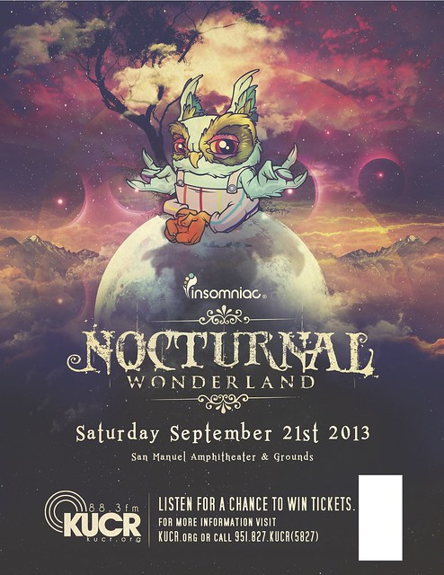Nocturnal Wonderland Ticket Giveaway on KUCR!!!