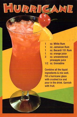 Recipe LA New Orleands Hurricane