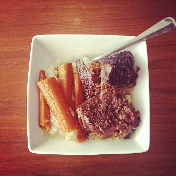 Pot Roast: It's What's For Dinner. #whole30