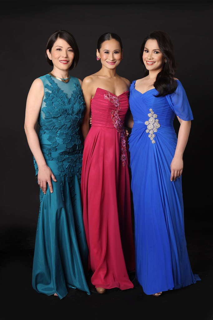 Cecile Licad, Lisa Macuja-Elizalde and Lea Salonga in The Le