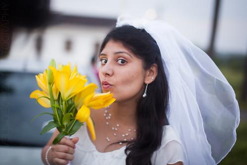 Duck-face Bride