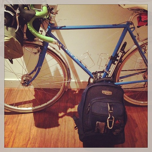Packed for the #dharmawheels #buddhistbikepilgrimage
