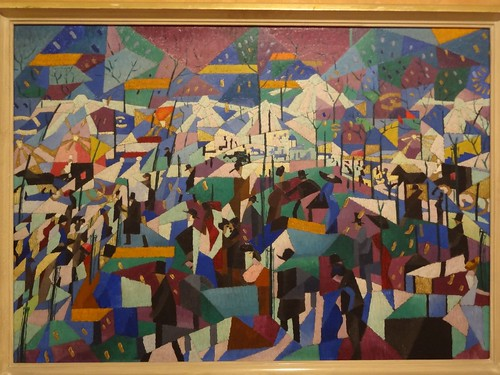 The Boulevard, by Gino Severini. (1910-11).