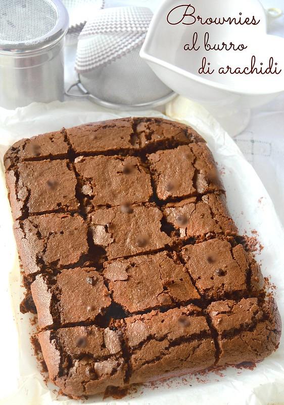 Famoso Dolci a go go: Brownies al burro di arachidi FX16