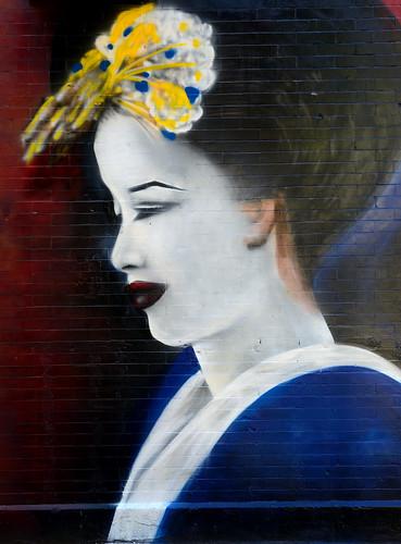 Art - Spray Paint on Brick
