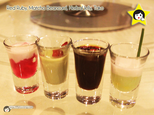Seafood International Assorted Dessert Shooter