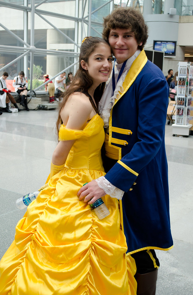 NYCC Beauty and the beast cosplay