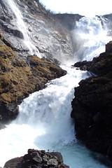 Waterfall near Myrdal in Norway.