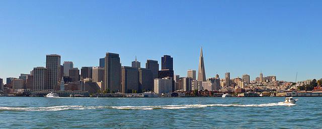 La vista por el día es magnífica, pero nada que ver con la transformación que sufre al atardecer y por la noche Treasure Island, el tesoro mejor guardado de San Francisco - 10221134863 d6e5c4fc07 o - Treasure Island, el tesoro mejor guardado de San Francisco