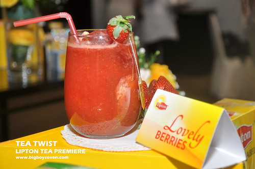 TEA TWIST Lipton Tea Premiere 7
