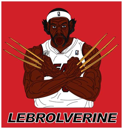 Lebrolverine. Joey Cienian.