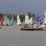 20 October, 2013 - 13:03 - Ranelagh RTYC Merlin Open 2013 - First run to the downwind mark