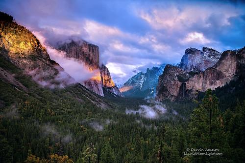Sierra Storm - Yosemite Valley