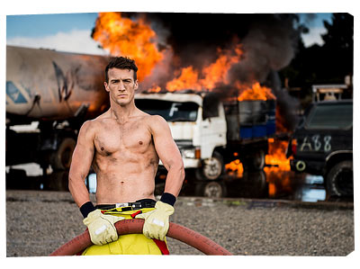 Perth Firefighter Calendar 2014