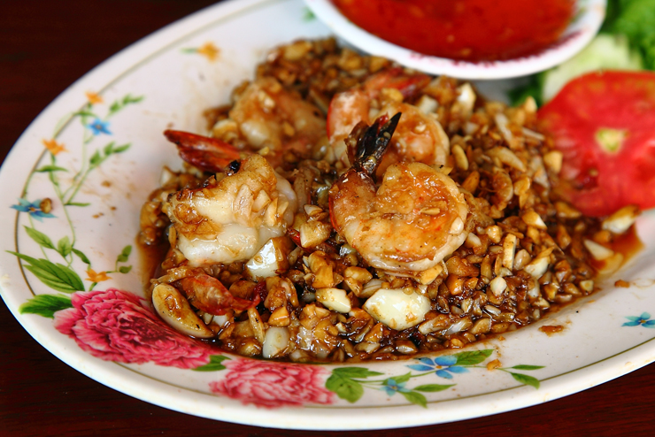 Garlic-Pepper-Prawns