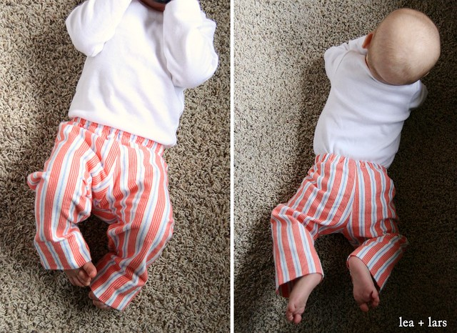 boy pj pants Sarah Jane flannel