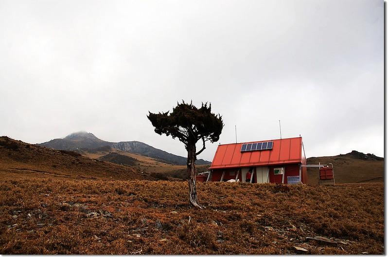 大水窟山屋(Elev. 3280m) 1