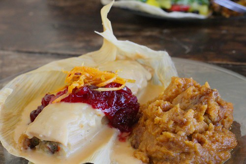 Post image for Eat This! Turkey and Dressing Tamale