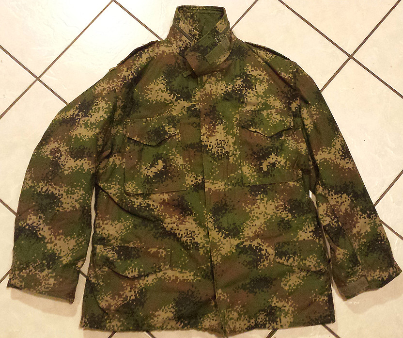 Colombian Digital Camo M65 Field Jacket with Liner 11013422676_6bae578d4c_b