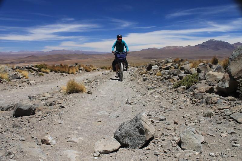 The road on Uturuncu