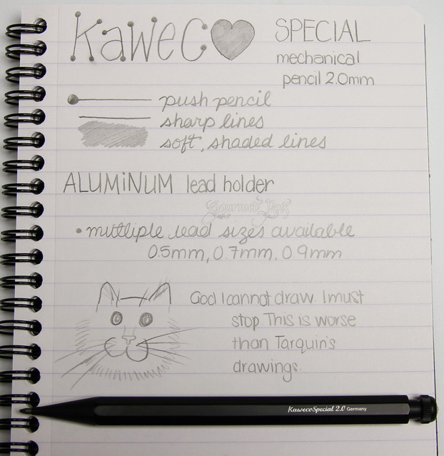 @Kaweco Special AL Lead Holder - 2 mm - Black Body @JetPens