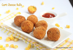 Corn -cheese -balls