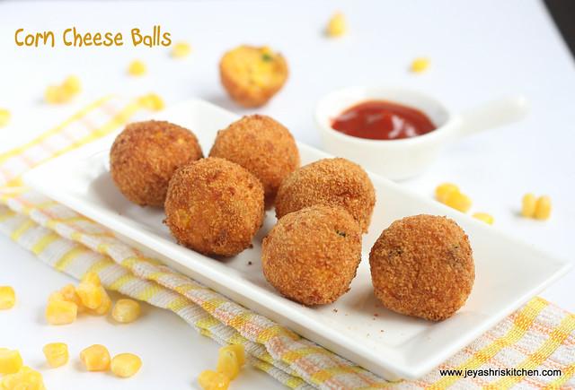 Corn- cheese- balls