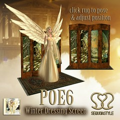POE6 Winter Dressing Screen by SEQUOIASTYLE