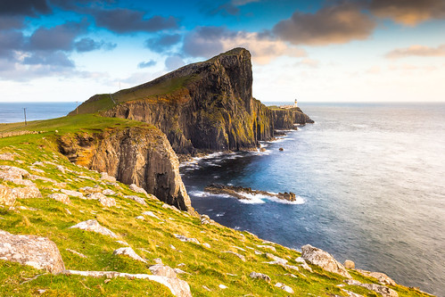 Neist Point Lighthouse - Skye Island - Scotland - UK