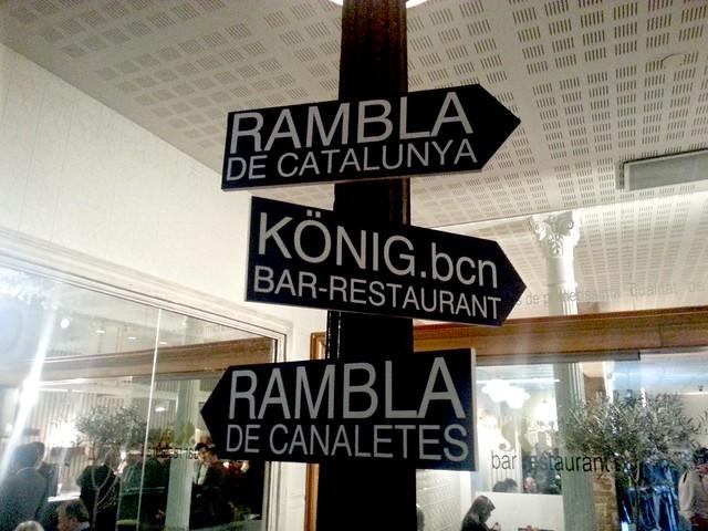Restaurante König Barcelona Exquisits.cat