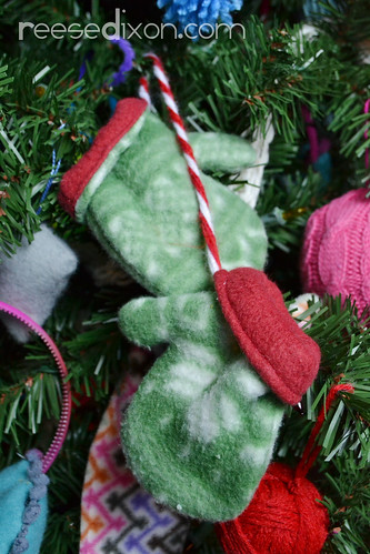 Pair of Mittens Ornament