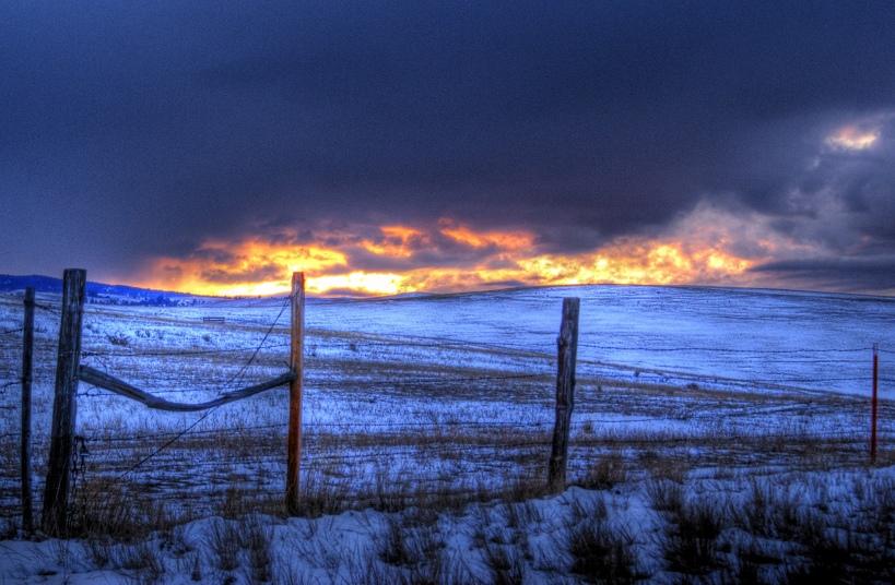 15. Tormenta en Gold Creek, Montana. Autor, Lynn