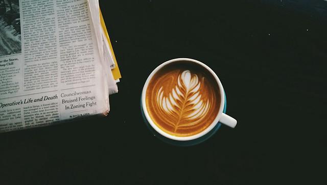 Wake up and make coffee.