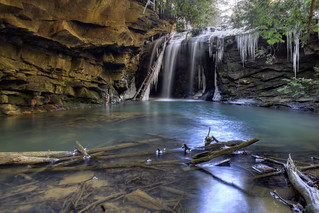 Honey Creek Falls 3, Big South Fork NRRA, Scott Co, TN