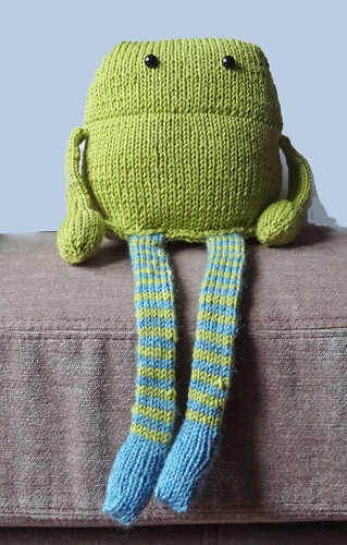 Knitted Monster 02