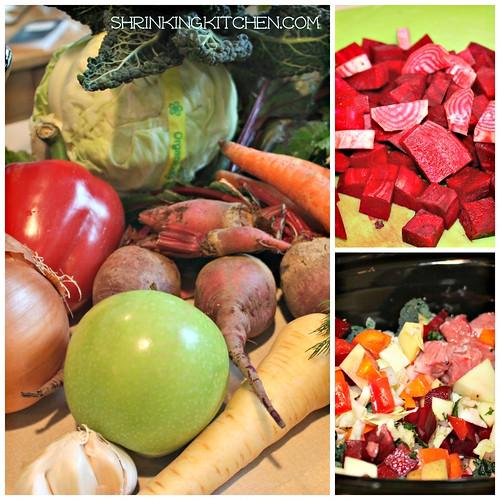 borscht collage