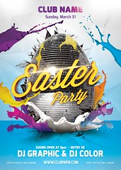 Main File Easter Party Flayer Template