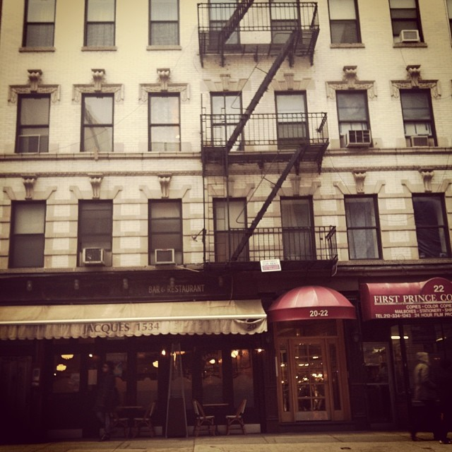 Prince St #newyork #nyc #earlybird #downtown