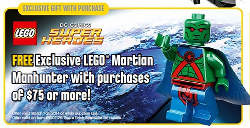 LEGO DC Universe/Comics Martian Manhunter