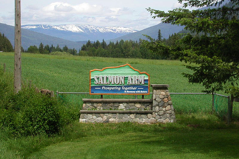 Salmon Arm, Shuswap Lake, Shuswap, British Columbia, Canada