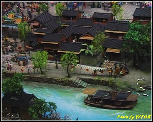 杭州 吳山天風景區 - 058 (城隍閣 內的南宋時期的杭州風情軟木立體畫))
