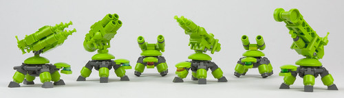 Turtle Weapon Variants by Legoloverman