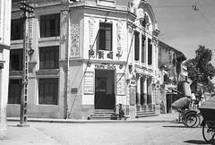 HANOI 1940 - Cinéma TRUNG QUỐC - Phố Hàng Bạc. Sau này là rạp Chuông Vàng