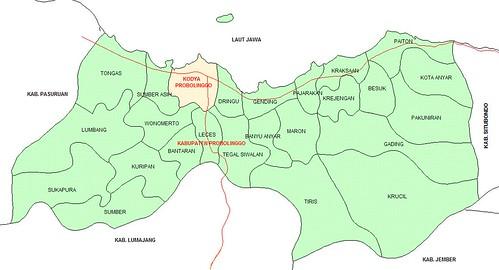 Peta Probolinggo