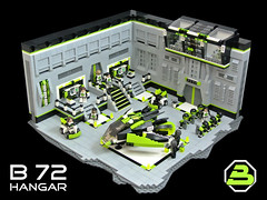 Blacktron - B 72 Hangar