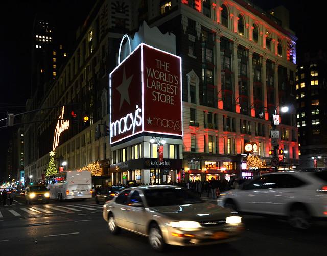 Mall de Nueva York Macys