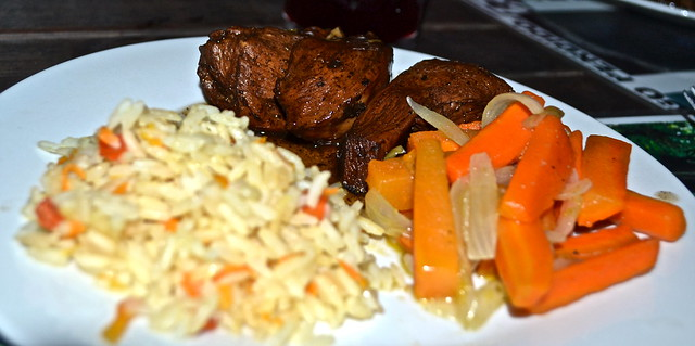 beef and rice dish - gringo perdido