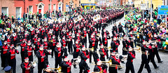 Members Of the Pride Of Owasso Took Part In The  St. Patrick's Day Parade in Dublin