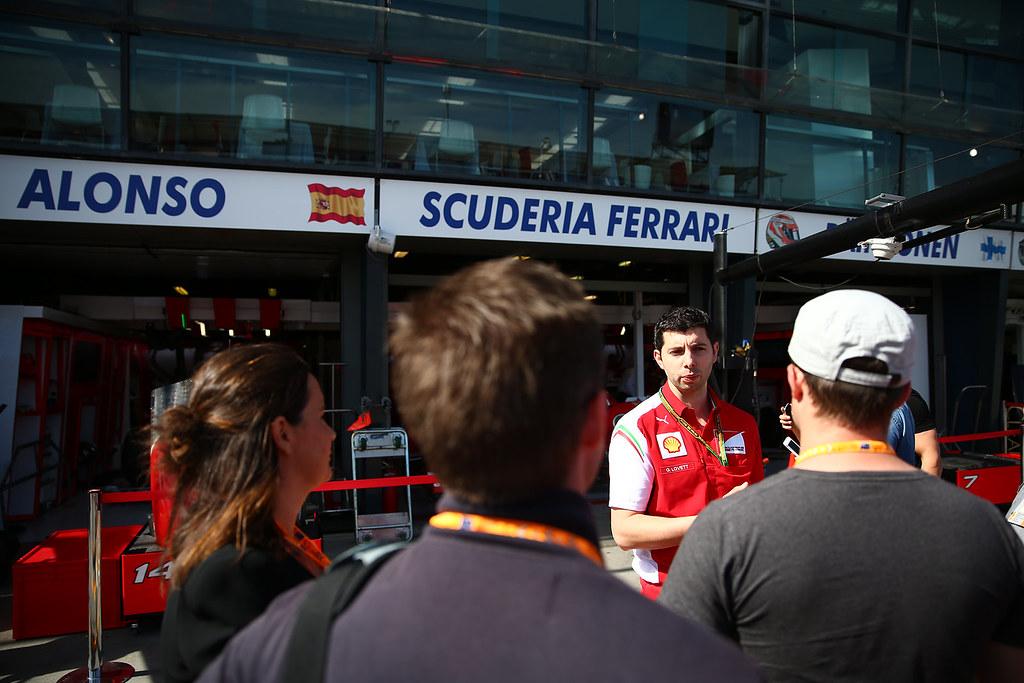 Shell at the Australian F1 Grand Prix