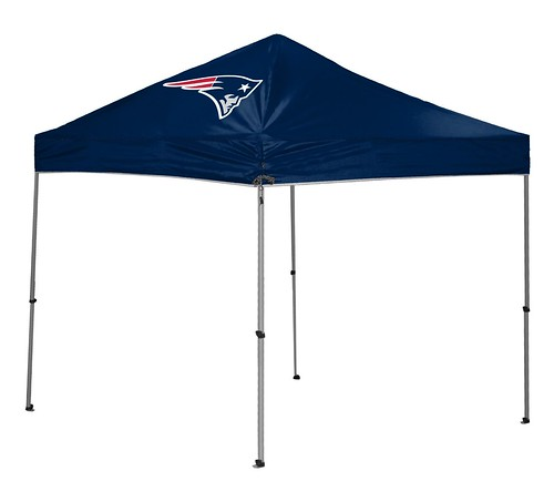 New England Patriots TailGate Straight Leg Canopy, 9' x 9'